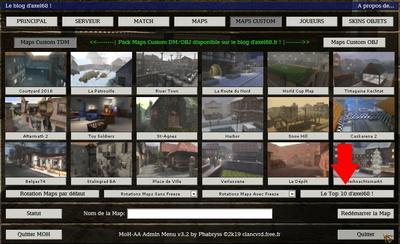 04   Menu Maps Custom DM